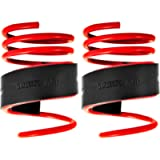 BITS4REASONS - E-TECH COIL SPRING AID SUSPENSION TOWING ASSISTORS (1 PAIR) (FITS INTO SPRING GAP 18-25MM)