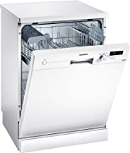 Siemens 4 Programs 12 Place settings Free standing Dishwasher, White - SN24D200GC
