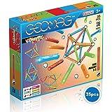 Geomag- Confetti Construcciones magnéticas y juegos educativos, Multicolor, 35 piezas (351) , color/modelo surtido