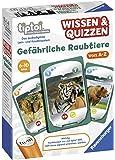 Ravensburger tiptoi 00752 - Spiel Wissen & Quizzen: Gefährliche Raubtiere / Erkundet allein oder gemeinsam die Welt der gefährlichen Raubtiere von A bis Z