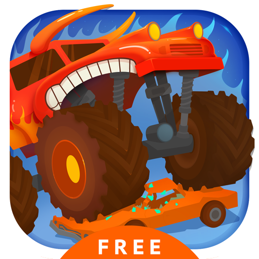 Monster Truck Go Free - Racing & Driving Simulator Games for Kids - Monster Jam Spiele