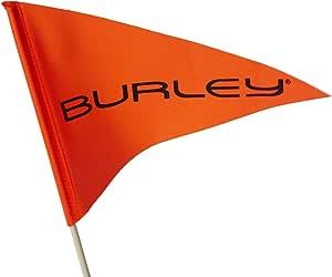 Burley Sicherheitsflagge 2 Teilig Logo Amazon De Sport Freizeit