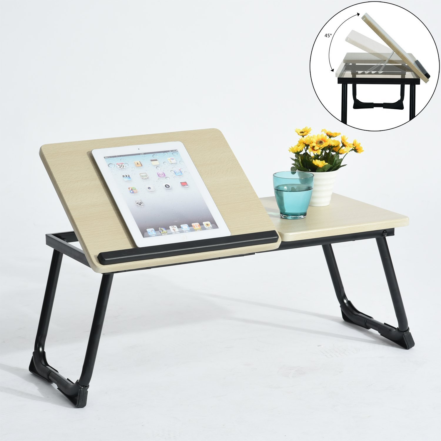 laptop desk the stand folded executive reviewing office by portable solutions