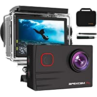 【2020 Nuova 】Apexcam 4K Action Cam Pro 20MP EIS WIFI Fotocamera Impermeabile 40M Sott'acqua Ultra HD Sports Camera Mic…