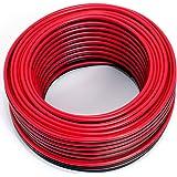 Cavo per altoparlante, 2 x 1,50 mm2, 25 m, rosso/nero, CCA