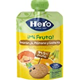 Hero - Bolsita De Fruta Naranja, Plátano Y Galleta 100 gr