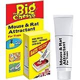 La souris au fromage et son attractif pour rats (appât naturel sans poison, attire les rongeurs, réapparaît jusqu'à 60 pièges), tube de 26 g
