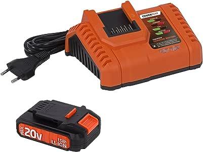 POWERPLUS POWDP9010 POWDP9010-Bater/ía 20v litio 1500mah