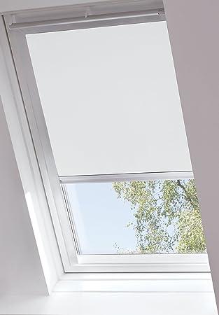 GARDINIA EASYFIX Rollo Für Dachfenster Zum Kleben, Verdunklungsrollo,  Lichtundurchlässig, Alle Montage Teile