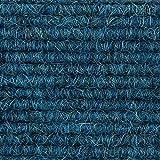 Teppichboden Teppich-Fliese | Tretford Interland ECO | 50x50 cm | blau 567