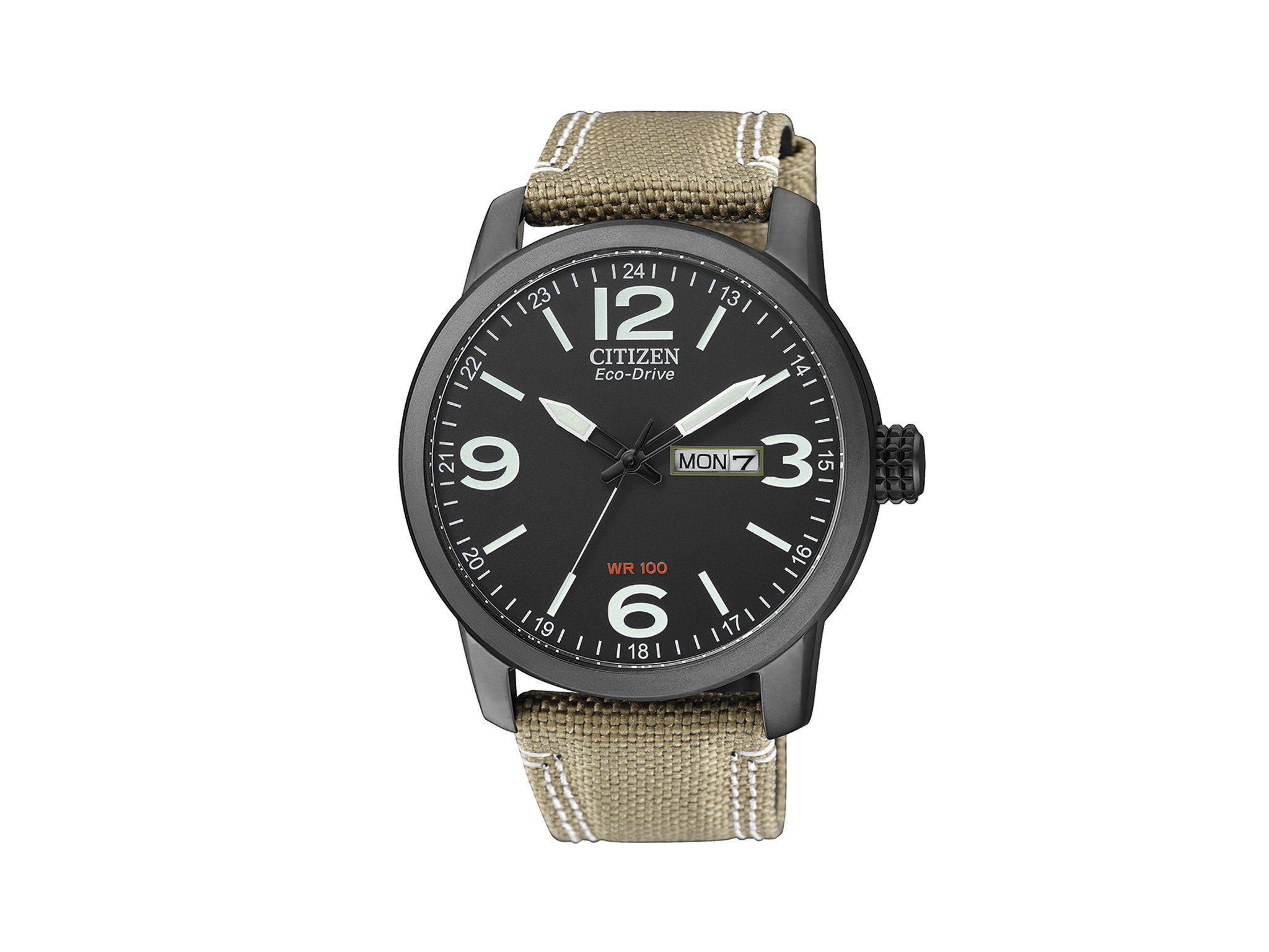 Citizen BM8476-23E – Reloj analógico de Cuarzo para Hombre, Correa