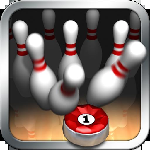 10 Pin Shuffle (Bowling) - Shuffleboard-pins