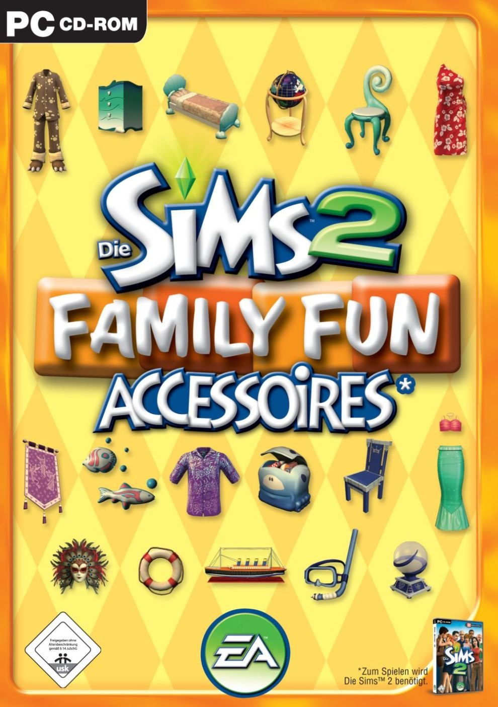Die Sims 2: Family Fun Accessoires (Add On): Pc: Amazon.de: Games