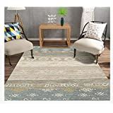 Home Modern Rug Carpet, Rectangle Non Skid Area Rugs Living Room Large Rug, Large Carpet Floor Mat Fashion Kitchen Rugs, for