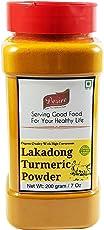 Desire Lakadong Turmeric Powder jar, 200g [Organically Grown in North-East India, Premium Quality & High-Curcumin ]