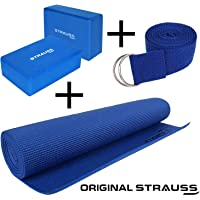Strauss Anti-Skid Yoga Mat