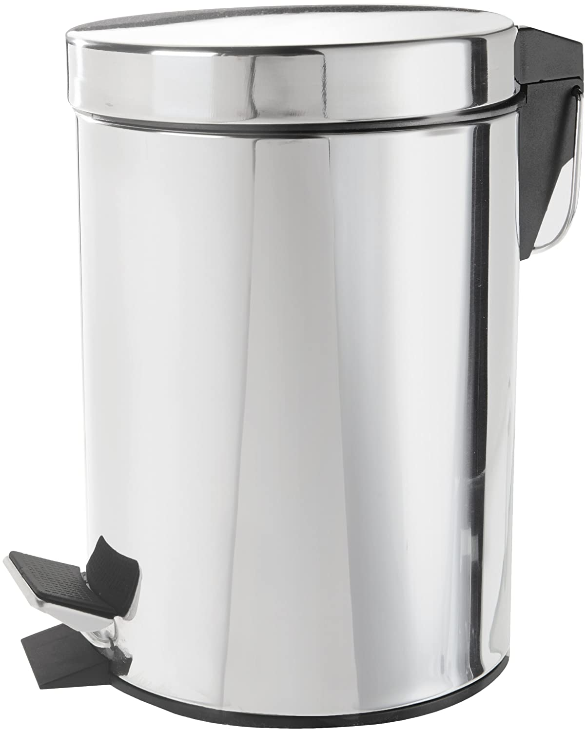 Kitchen Bin Wenko Exclusive Cosmetic Pedal Bin Silver 3 Litre Amazonco