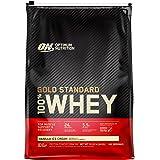 Optimum Nutrition Gold Standard 100% Whey Protein Powder, Vanilla Ice Cream, 10 Pound, 146 Serving Portion