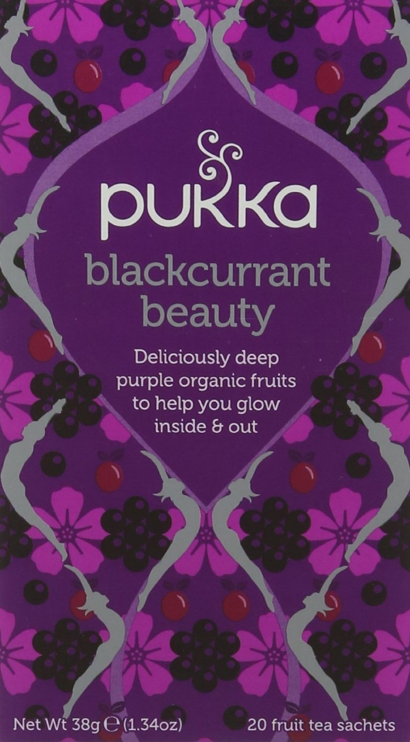 Pukka Womens range tea bundle (soil association) (infusions) (4 packs of 20 bags) (80 bags) (a floral, fruity, vegetal tea with aromas of beetroot, blackcurrant, fennel, hibiscus, liquorice, rosehip) (brews in up to 15 min)