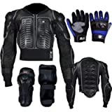 Kids body Armour Randy Gray Boys Cub Motorbike Childrens Safety Protective Body Armour Protection Back Protection…