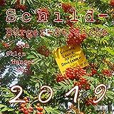 Schild-Bürger-Streiche - Kalender 2019 - der Olle Hansen Peter-T. Schulz - DuMont-Verlag - Broschurkalender mit Platz zum Eintragen - 30 cm x 30 cm (offen 30 cm x 60 cm)