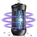 QUARED Lampe Anti Moustique, UV LED Tueur de Moustiques Intérieur Efficace Portée 30m² Pièges à Mouche, Destructeur d' Insect