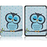 "Robustrion Ultra Slim Smart Flip Case Cover for All New 6"" Amazon Kindle 10th Generation 2019 Cover - Owl"