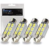 Safego 4x C5W 36mm LED Lampadine Auto Cupola del Festone Luci Interne Auto Dome Festoon 6 SMD 5730 LED Lampada LED porta/lett