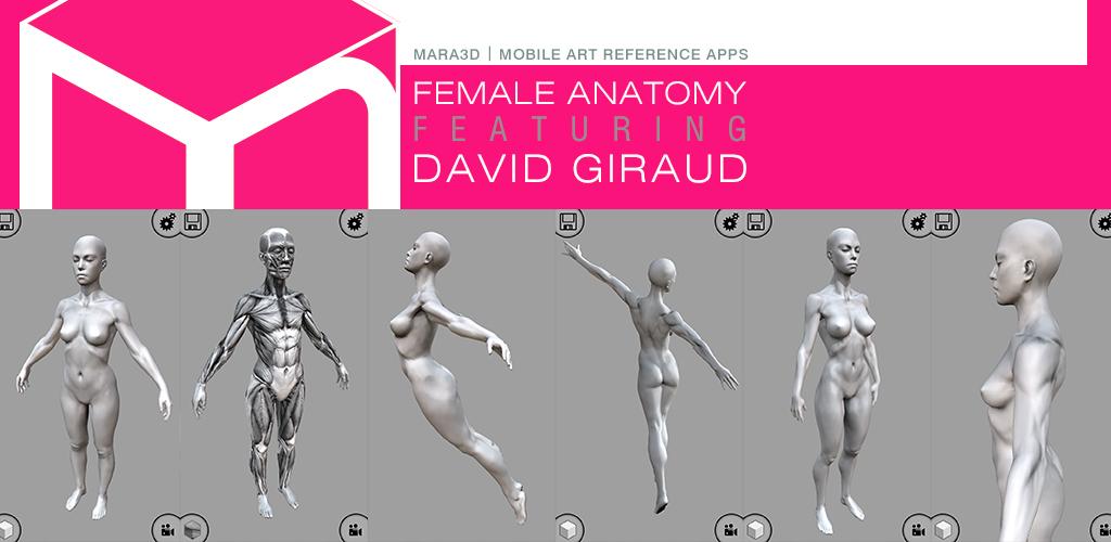 Mara3d Female Anatomy Amazon Apps Fr Android