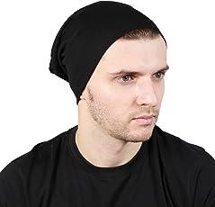 Noise Slouchy Beanie Cap (Black)