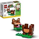 LEGO 71385 Super Mario Tanuki-Mario dräkt Power Up Pack, förlängningsset, kostym för svarvning och stämpling