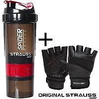 Strauss Spider Shaker Bottle,500ml