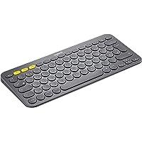 Logitech K380 Kabellose Bluetooth-Tastatur, Multi-Device & Easy-Switch Feature, Windows- und Apple-Shortcuts, PC/Mac…