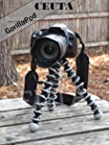 CEUTA® Gorilla Tripod (13 Inch Height) for Camera, DSLR and Smartphones with Universal Mobile Attachment- Gorillapod for…