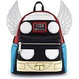 Loungefly Marvel Thor Mini Backpack ,Multi-Colour