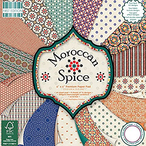 Premium Craft Cardstock First Edition Moroccan Spice 6x6