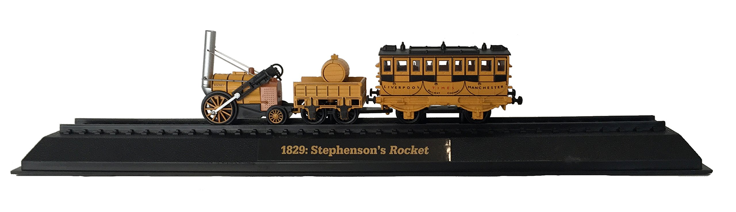 Stephenson's Rocket - 1829 Diecast 1:76 Scale Locomotive Model (Amercom OO-27)
