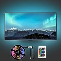 Yifacoom Led TV Hintergrundbeleuchtung, LED Streifen, 2M LED Strip für 40 bis 60 Zoll HDTV, TV-Bildschirm und PC-Monitor…