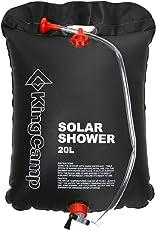 Kingcamp Solar Shower, 20 litres (Black)