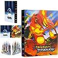 Kaartalbum, Pokemon Ruilkaartalbums, Pokemon Kaartalbumboek, Kaarthouderalbums, 30 Pagina's, kan 240 Kaarten Bevatten, voor d