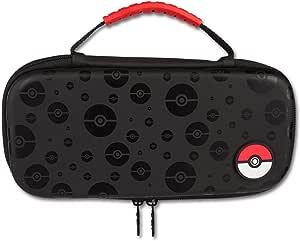 PowerA Custodia di Protezione per Nintendo Switch - Poke Ball Nero - Nintendo Switch