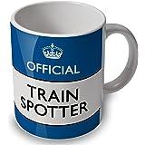 verytea Train Spotter - Official - Mug Cup (blue)