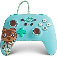 Verbesserter Kabelgebundener PowerA-Controller für Nintendo Switch – Animal Crossing: Tom Nookgamepadkabelgebundener…
