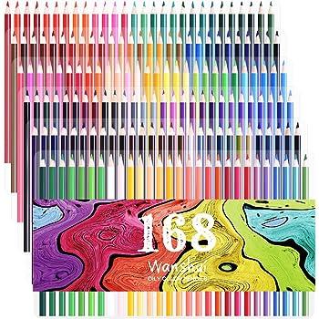 150 Aquarell Bleistifte Ectech Professionelle Wasserlösliche