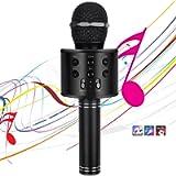 Microphones for Kids Wireless Bluetooth Microphone,Portable Handheld Toy Karaoke Mic Speaker Machine, Home KTV Player…