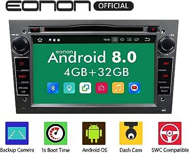 Ga9154b Android 8 Fit Opel Antara Astra Corsa Vectra Zafira 17 8cm 7 Touchscreen Indash Car Digital Audio Video Stereo Autoradio Dvd Gps Bluetooth Usb Sd Fm Am Rds Headunit Grau Auto