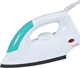 Candes EI104 Light Weight Copper Electric Black Non Stick Coated Sole Plate Dry Iron,Small(Multicolour)