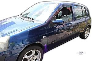 Renault clio 1998-2005 sur mesure voiture tapis de sol-noir avec bord rouge