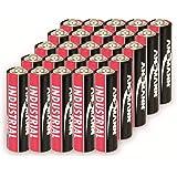 Ansmann Alkaliska batterier AA Industrial 1502-0002 (20 x Mignon AA LR6, 1,5 V, kapacitet: 2 700 mAh)