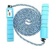 Sinwind Corda per saltare per bambini, con contatore e comode impugnature Speed Rope Skipping Rope per allenamento fitness e